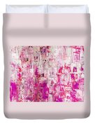 Oblong Abstract I Duvet Cover