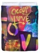 Occupy Love Open Heart Duvet Cover