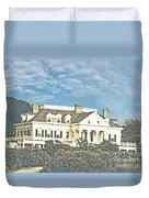 Ocean Drive Mansion Ri Duvet Cover
