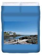 Ocean Front Living Duvet Cover