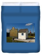 Ochopee Post Office Duvet Cover by David Lee Thompson