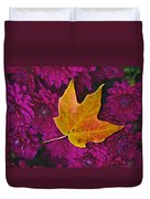 October Hues Duvet Cover by Paul Wear