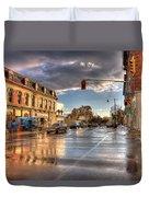October Rain Duvet Cover