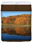 October Scene Duvet Cover