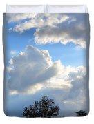 October's Cloud Illumination 2012 Duvet Cover