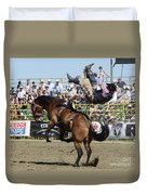 Rodeo Off In A Flash Duvet Cover
