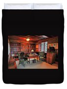 Office At Gillette Castle Duvet Cover
