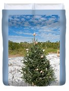 Oh Christmas Tree Florida Style Duvet Cover