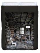 Ohio Cabin Duvet Cover