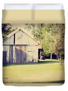 Ohio Shed Duvet Cover