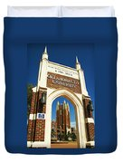 Oklahoma City University Duvet Cover