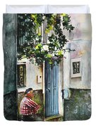 Old And Lonely In Spain 08 Duvet Cover