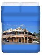 Old Aussie Pub Duvet Cover