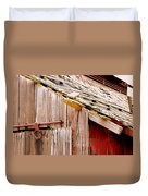 Old Barn Close Duvet Cover