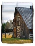 Old Barn Doors Duvet Cover