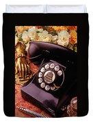 Old Bell Telephone Duvet Cover