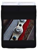 Old Belts Duvet Cover