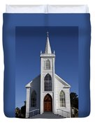 Old Bodega Church Duvet Cover