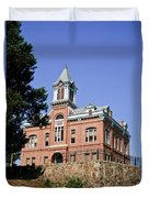 Old Courthouse Powhatten Duvet Cover