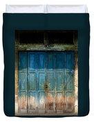 old door in China town Duvet Cover