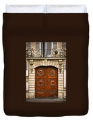Old Doors Duvet Cover