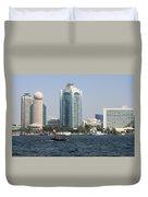 Old Dubai Duvet Cover