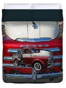 Old Fargo Pick Up Truck Duvet Cover