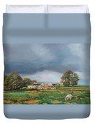 Old Farm - Monyash - Derbyshire Duvet Cover