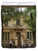Old Fashioned Hanoi Duvet Cover