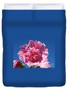 Old Fashioned Hollyhock Duvet Cover