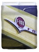 Old Ford Pick-up Duvet Cover