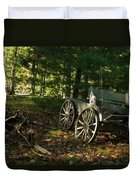 Old Frontier Wagon 1 Duvet Cover