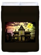 Old House At St Michael's Duvet Cover