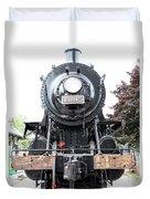 Old Locomotive Duvet Cover