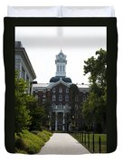 Old Main - Kutztown College Duvet Cover