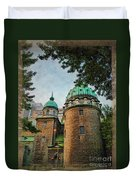 Old Montreal Church Duvet Cover
