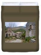 Old Perithia  Corfu  Greece Duvet Cover