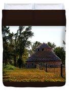 Old Round Barn Duvet Cover