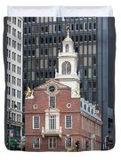 Old State House II Duvet Cover