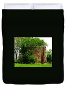 Old Stone Silo Duvet Cover