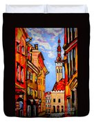 Old Tallinn Duvet Cover