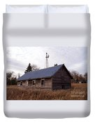 Old Time Barn From Days Gone By Duvet Cover