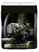 Old Time Equipment Duvet Cover
