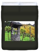 Old Water Well Duvet Cover