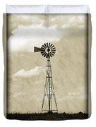 Old Windmill I Duvet Cover