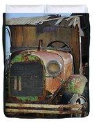 Old Work Horse Duvet Cover