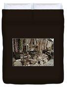 Old World Market Duvet Cover