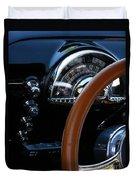 Oldsmobile 88 Dashboard Duvet Cover