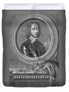Oliver Cromwell, English Political Duvet Cover