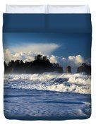 Olympic Ocean Swirls Duvet Cover